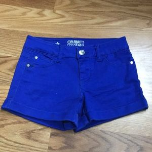 Celebrity Pink Jeans Women Blue Shorts 0